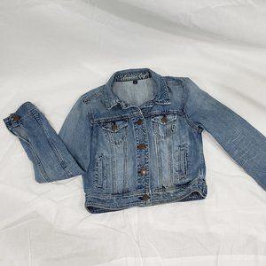 American Eagle Light-Medium Wash Denim Jacket